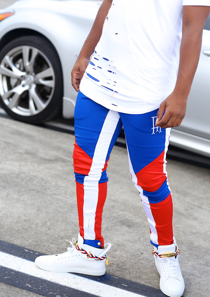 Captain Hart Attack Moto Pants - Posh By K
