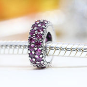 Pandora Inspiration Within Ruby Red Spacer Charm 791359CZR - Posh By K