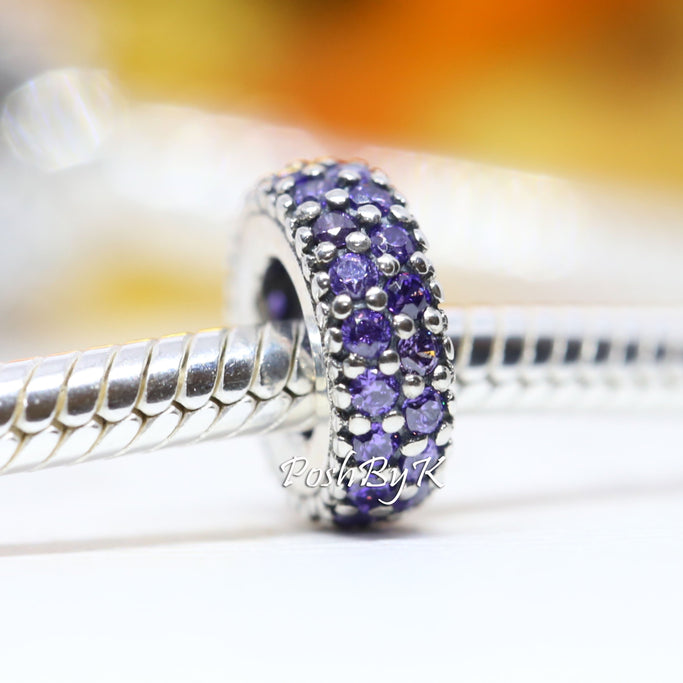 Pandora Inspiration Within Purple Spacer Charm 791359CFP - Posh By K
