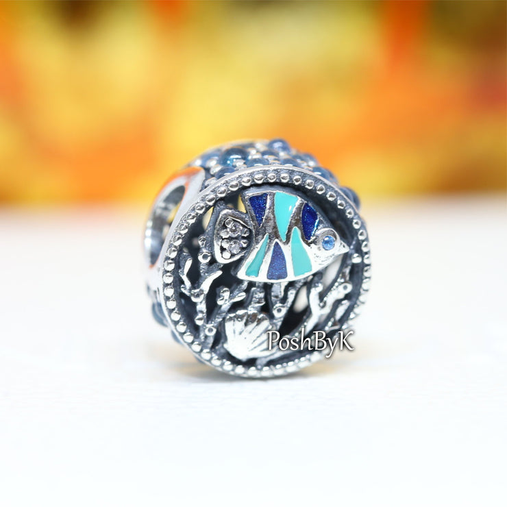 Ocean Life Charm 792075ENMX.jewelry, beads for pandora, beads for pandora bracelets, charms for pandora, beaded jewelry, pandora jewelry, pandora beads, pandora charms