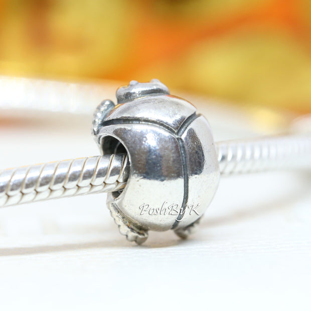 Pandora Scarab Beetle Charm 790526 Retired - Posh By K