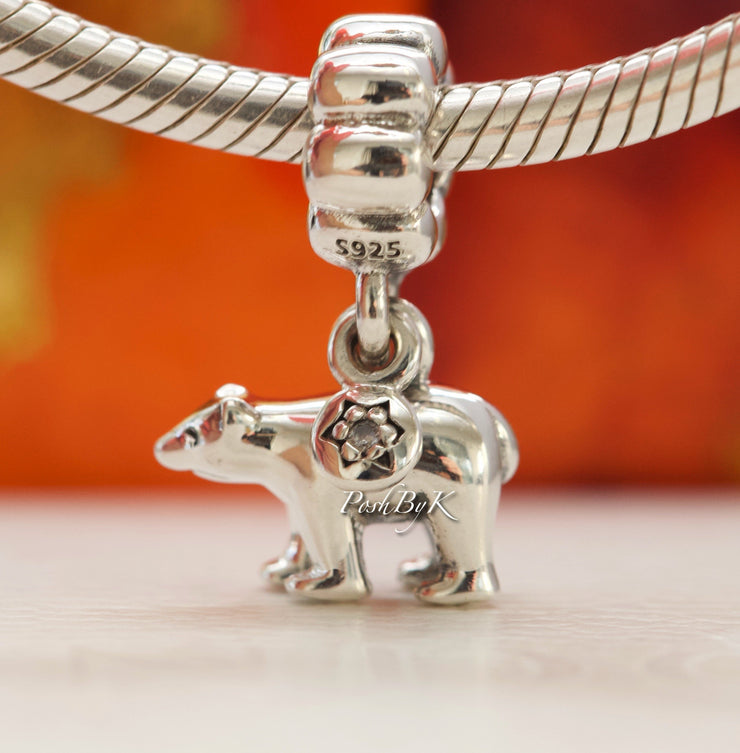 Pandora Polar Bear Charm 791029CZ - Posh By K