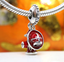 Pandora Fire Hydrant & Helmet Dangle Charm 797632ENMX - Posh By K