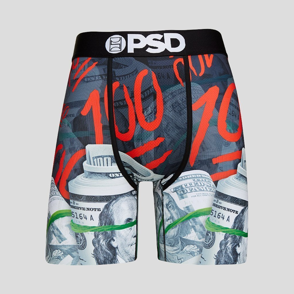 PSD Keep It 100 Boxer Briefs, Mens underwear, psd,sexy underwear, breathable mens underwear, printed design, sexy mens underwear, boxer brief, daily boxer, trendy boxer briefs,PSD collection