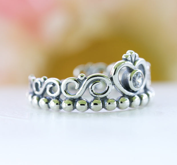 Pandora My Princess Sterling Silver Clear CZ Ring - Posh By K