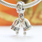 Pandora Christmas Bells Dangle Charm 791230 *Retired* - Posh By K