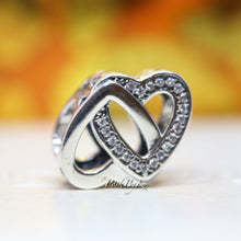 Pandora Entwined Love Two Hearts Charm 791880CZ - Posh By K