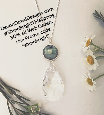 #ShineBrightThisSpring Handmade Gold Silver Jewelry www.DevonDowdDesigns.com