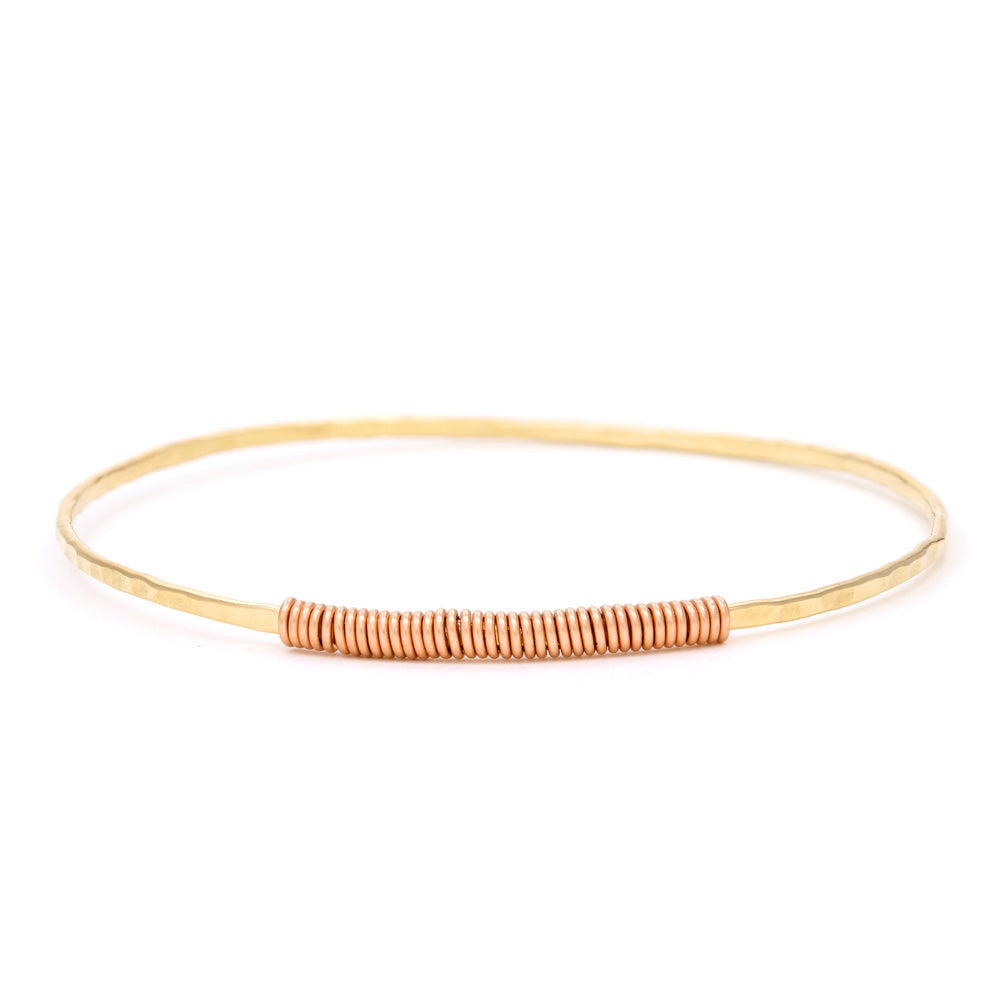 Gold Filled Single Bangle & Wrap