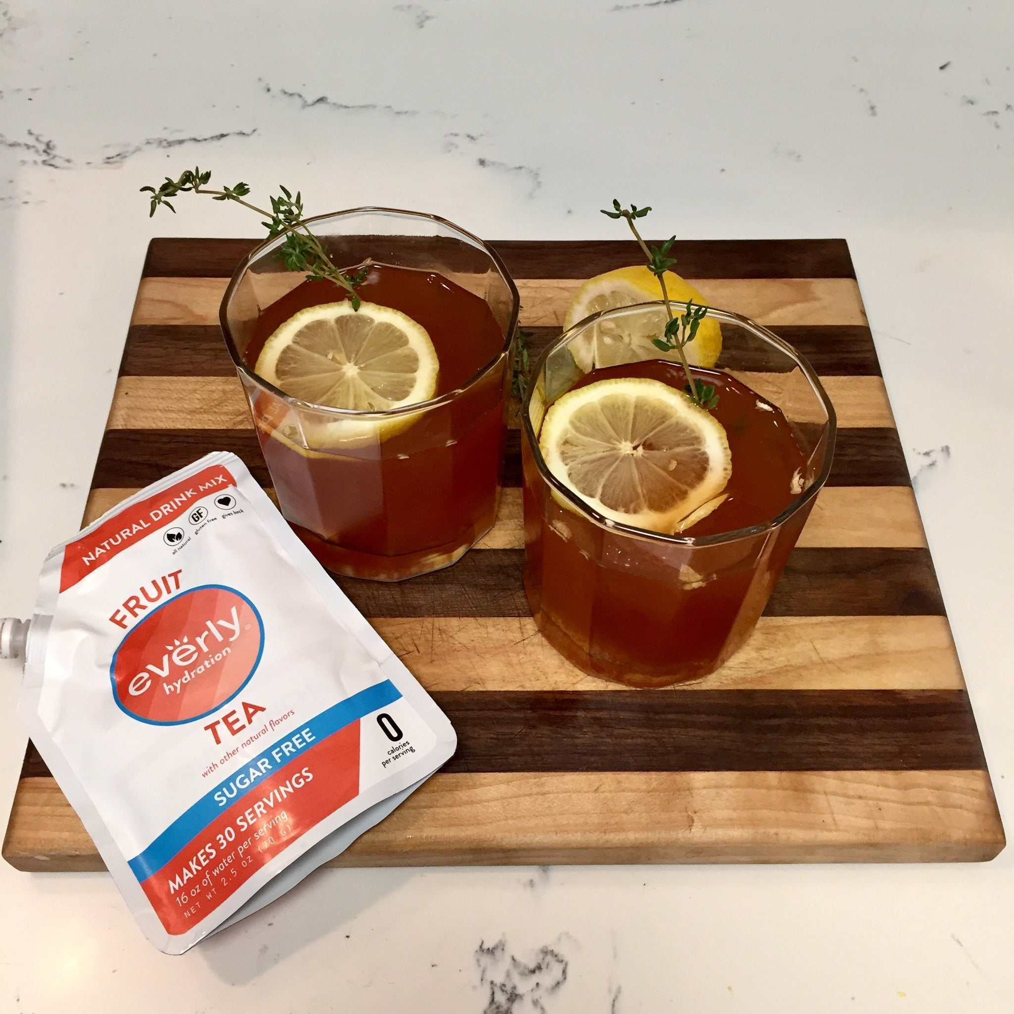 Whiskey Ginger Tea Toddy