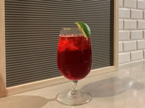 Everly Pomegranate Refresher Cocktail
