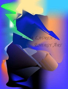 Linda Lauren's Energy Art™ - Thunder Drama