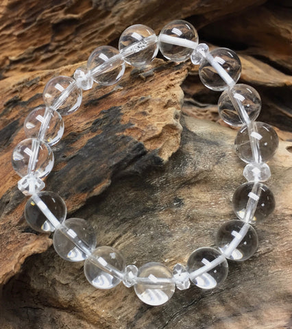 Clear Quartz Bracelet~Intention!