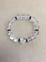 Black and White Power Bracelet