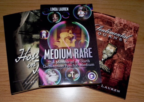 3 Book Gift Pack Signed by Linda Lauren
