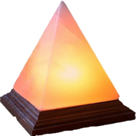 Pyramid Salt Crystal Lamp