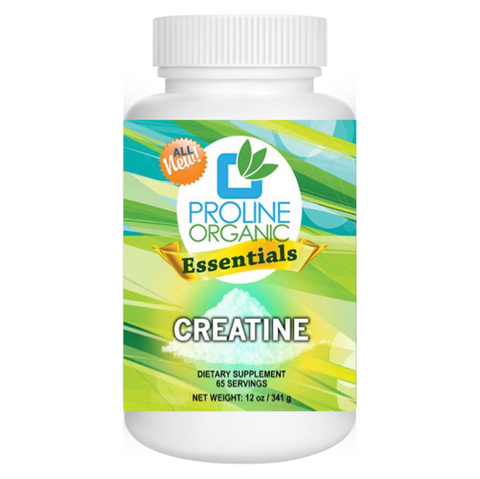 Pure Creatine Monohydrate by Proline Organic