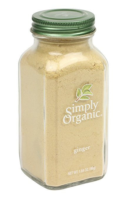 Ground Organic Ginger Spice by Simply Organic