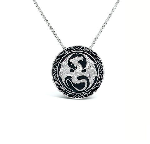 Dragon Medal Necklace