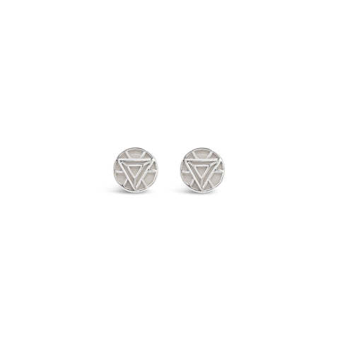 Arc Reactor Stud Earrings