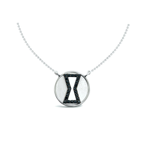 Black Widow Diamond Necklace