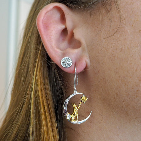 Goose Earrings