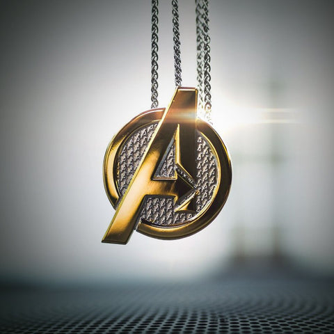 Avengers Logo Necklace