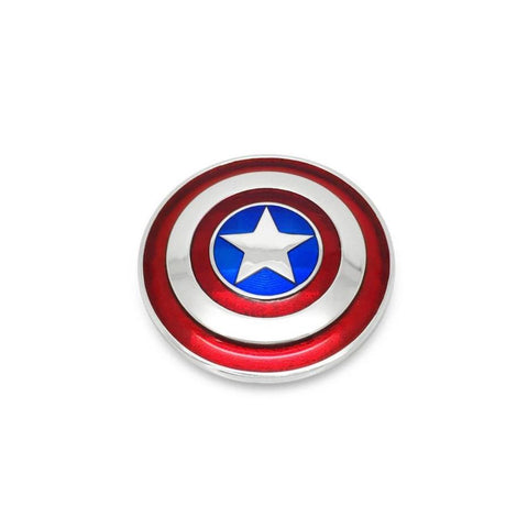 Captain America Small Shield Pendant