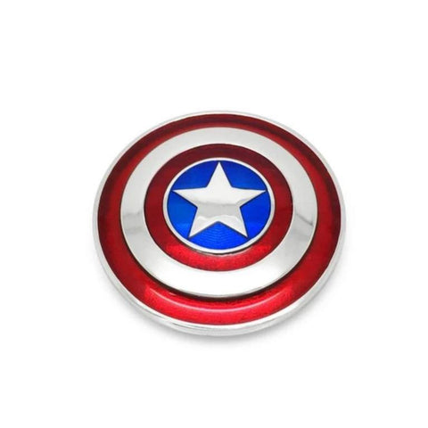 Captain America Large Shield Pendant