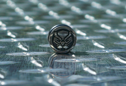Large Black Panther Bead