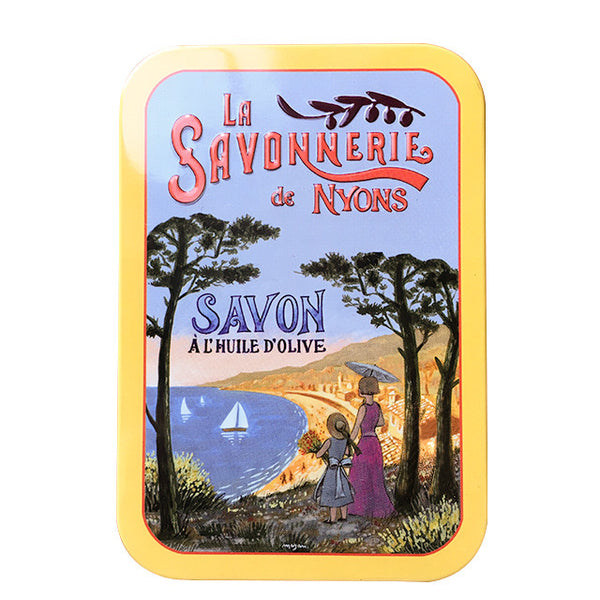 200g Soap in Tin Box - Savon Fleur de Coton