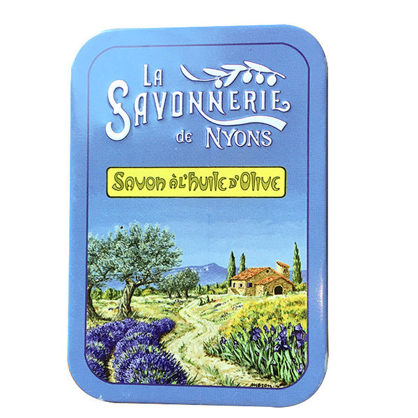 200g Soap in Tin Box - Savon Lavande
