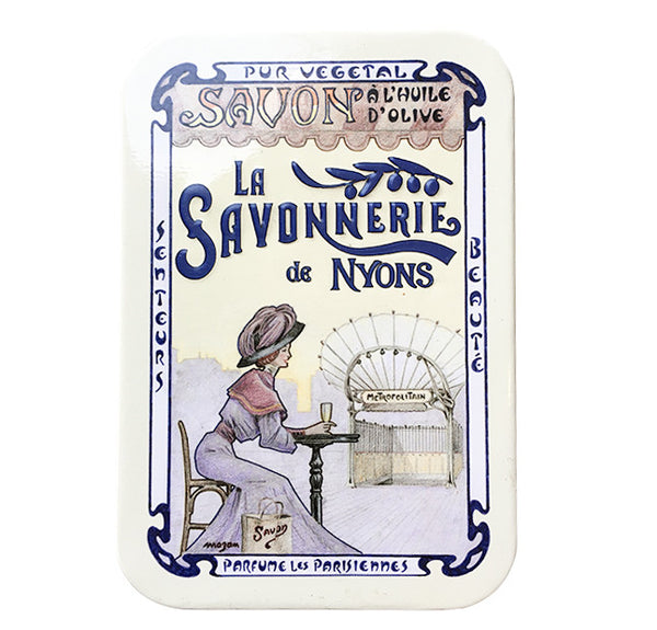 200g Soap in Tin Box - Savon Rose