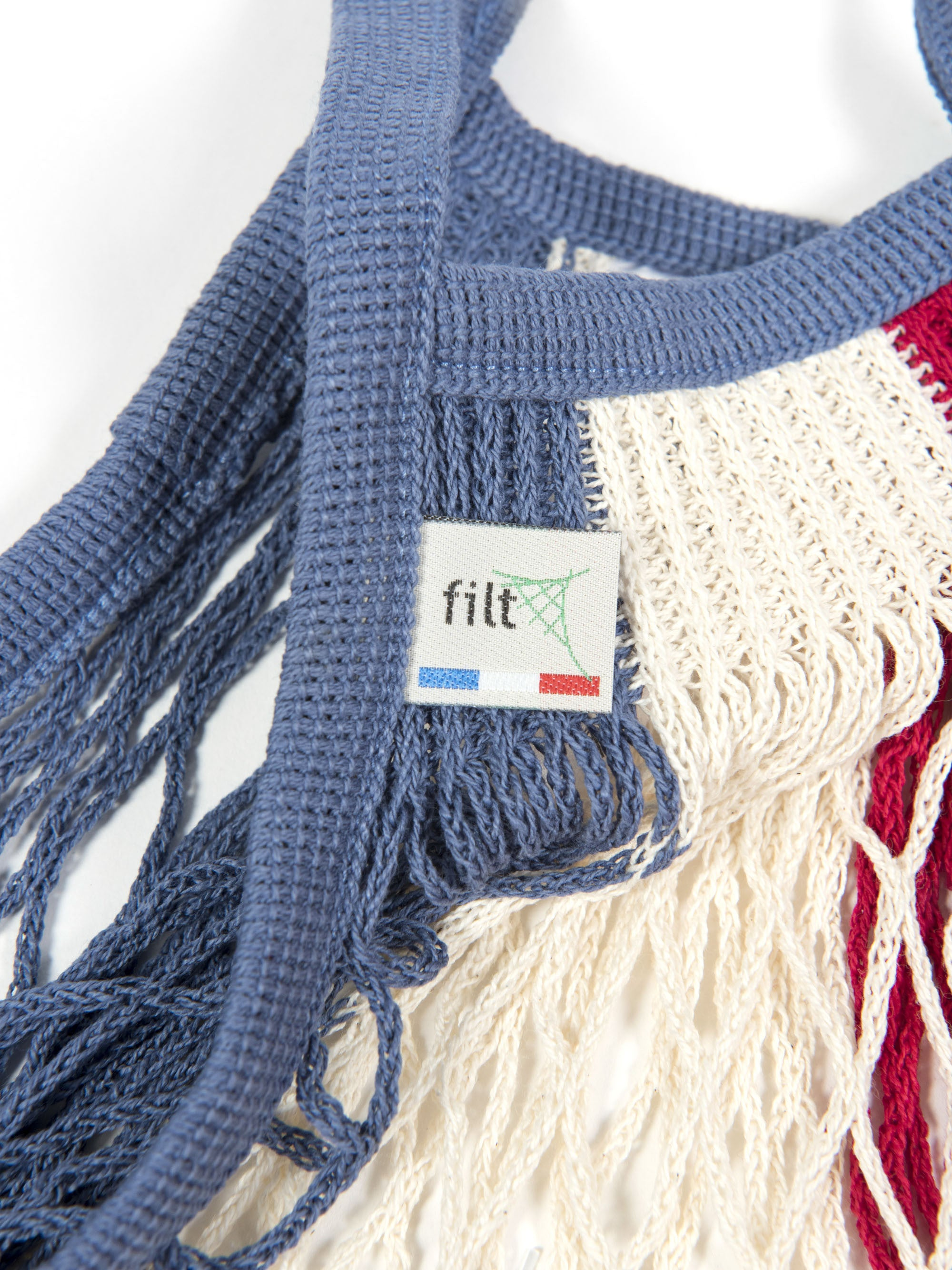 Filt Medium Bag in Red, White & Blue