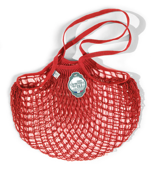 Filt Medium Bag in Red