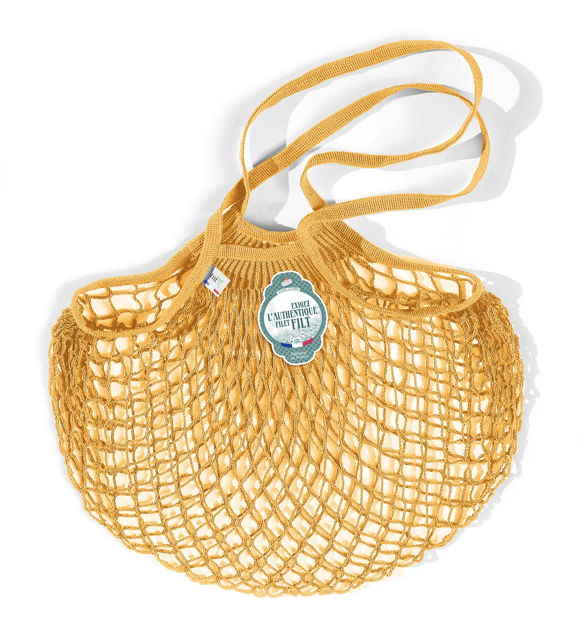 Filt Medium Bag in Gold