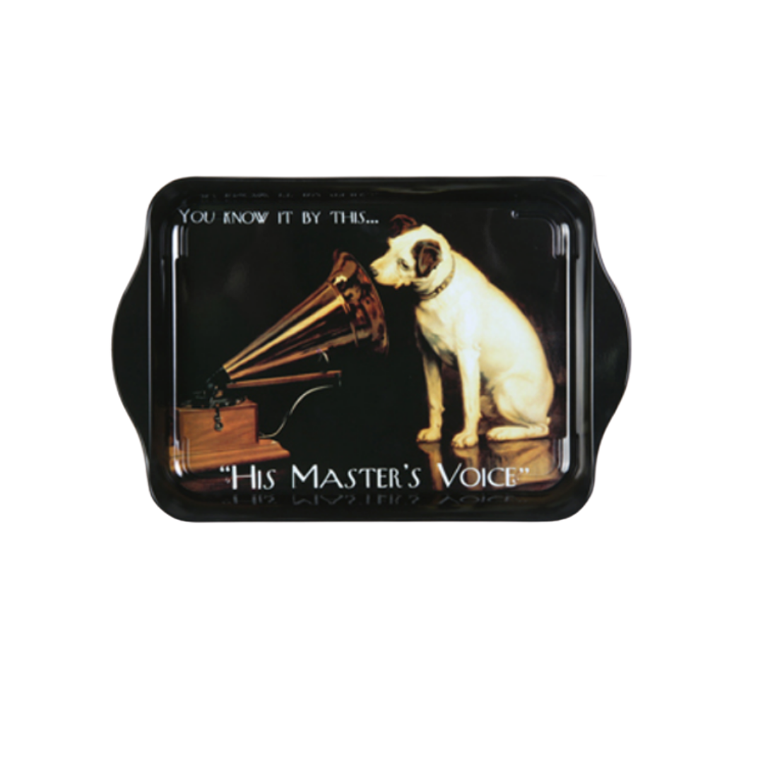 His Master's Voice Mini Metal Tray