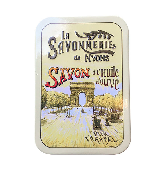 200g Soap in Tin Box - Savon Rose de Mai