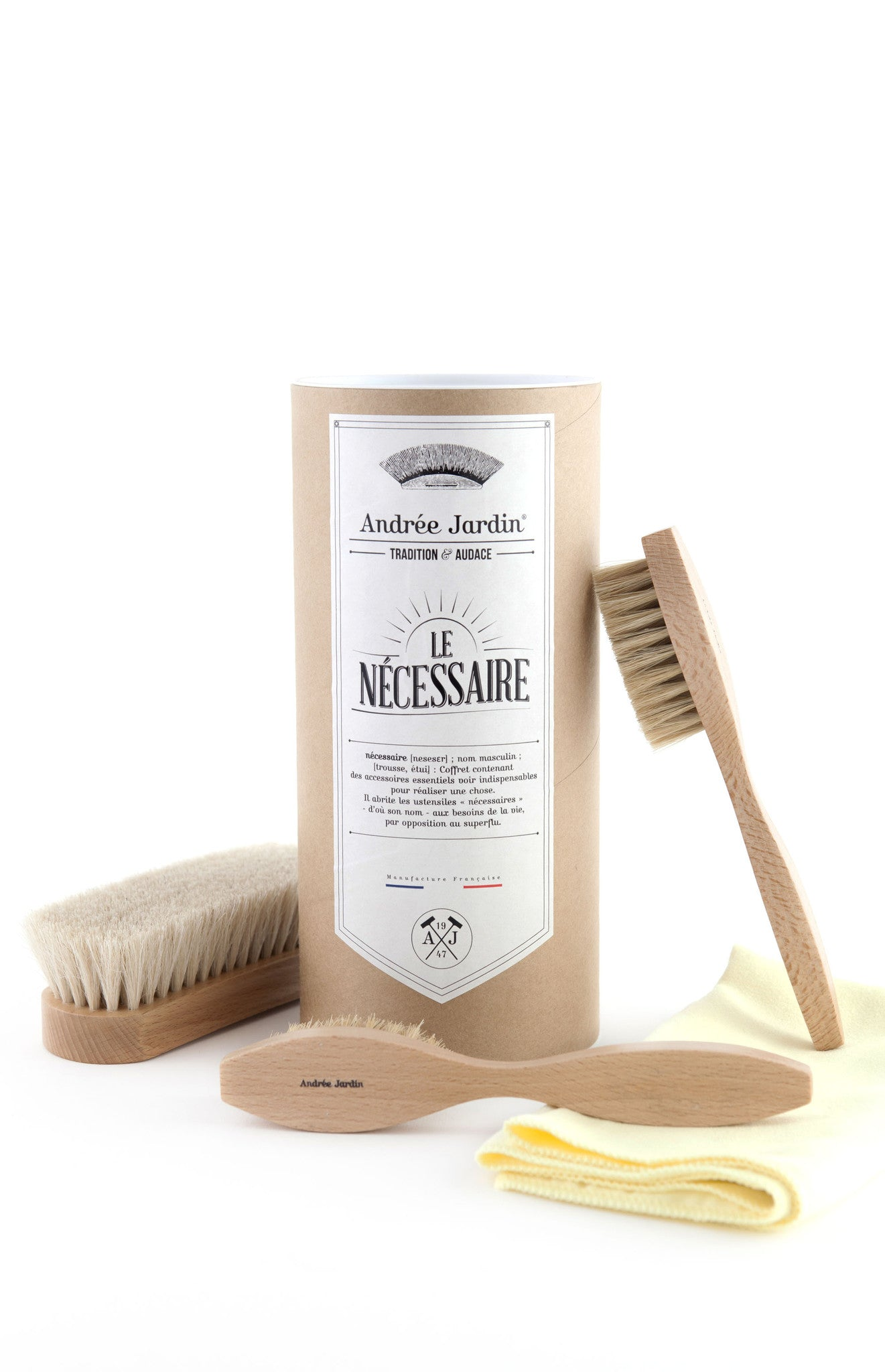 Andrée Jardin Tradition Shoe Care Kit
