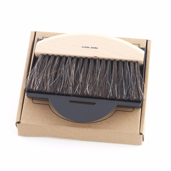 Andrée Jardin Mr. and Mrs. Clynk Mini Brush and Black Dustpan Gift Set