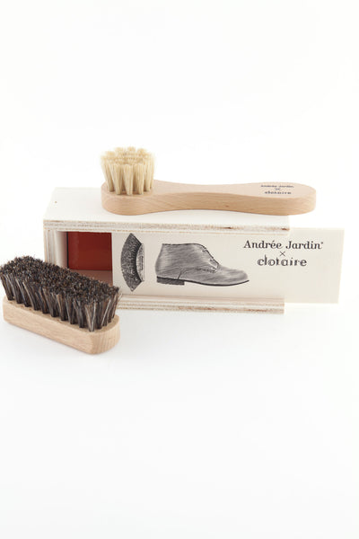Andrée Jardin Mini Shoe Care Kit in Pencil Box