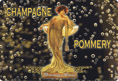 Champagne Pommery Placemat