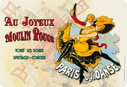 Moulin Rouge Placemat