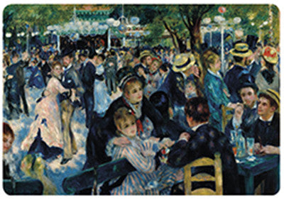 Renoir Ball at the Moulin Galette Placemat