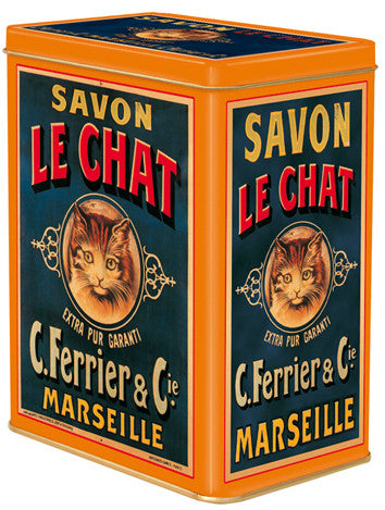 Savon de Chat Large Tin Canister
