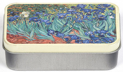 Van Gogh Irises Mini Tin Box