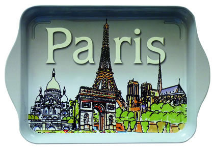 Paris Monuments Mini Metal Tray