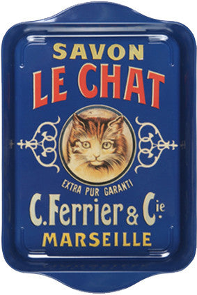 Savon le Chat Mini Metal Tray