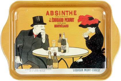 Absinthe Pernot Mini Metal Tray