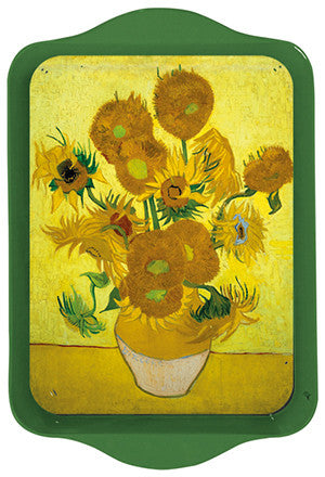 Van Gogh Sunflowers Mini Metal Tray